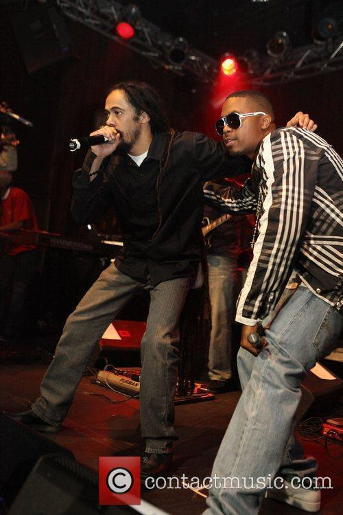Nas and Damian Marley 6
