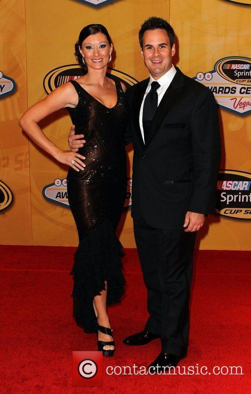 Kevin Conway and Angel Taber Nascar Sprint Cup...