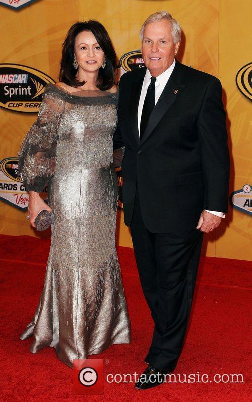 Linda Hendrick and Richard Hendrick Nascar Sprint Cup...