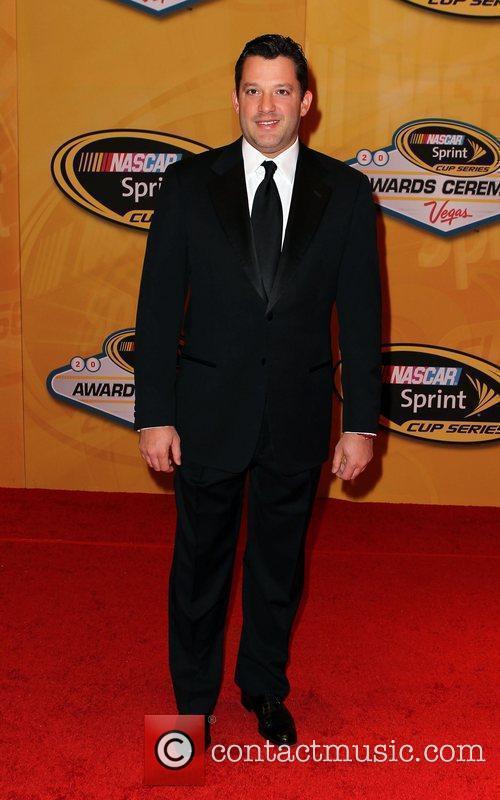 Tony Stewart Nascar Sprint Cup Series Award Ceremony...