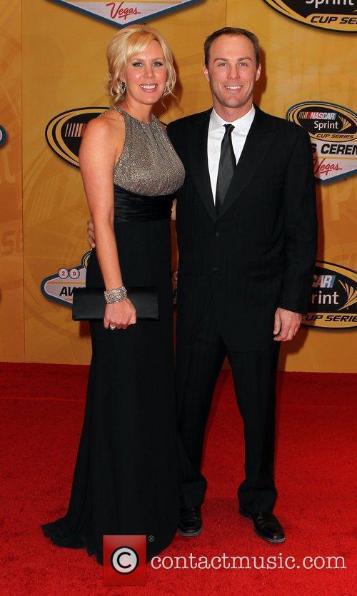 DeLana and Kevin Harvick Nascar Sprint Cup Series...