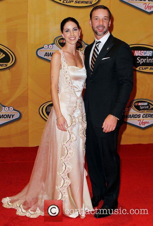Lisa Rockelmann and Chad Knaus Nascar Sprint Cup...