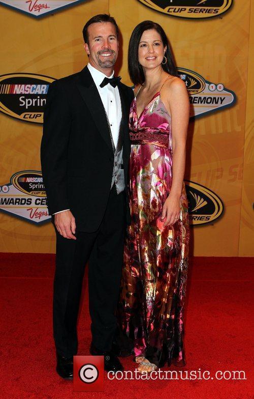 J.D.Gibbs and Melissa Gibbs Nascar Sprint Cup Series...