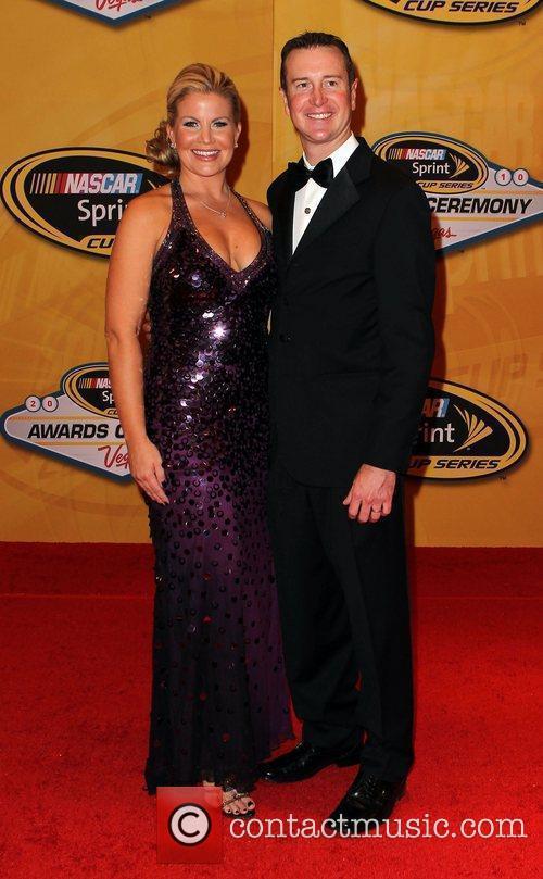 Eva Busch and Kurt Busch Nascar Sprint Cup...