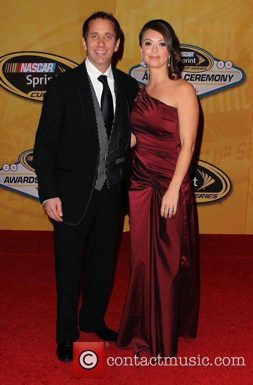 Greg Biffle and Nicole Biffle Nascar Sprint Cup...