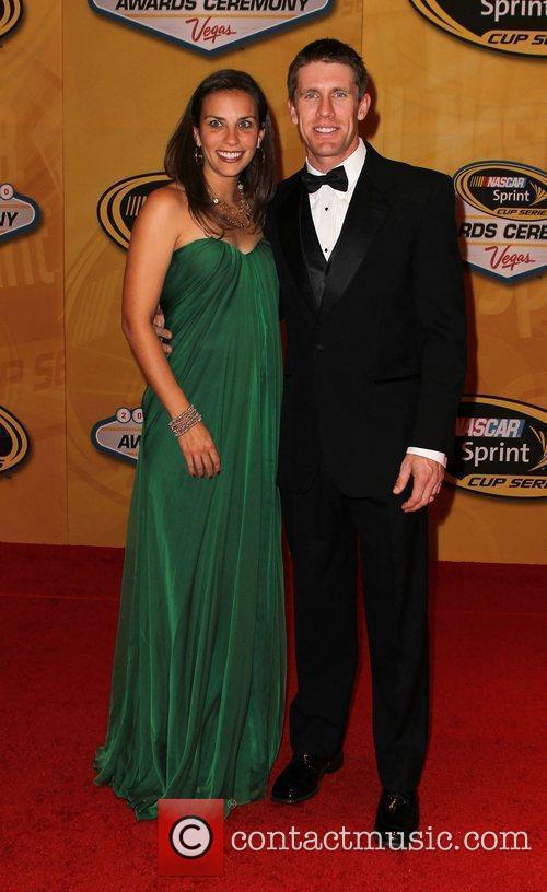 Kate Edwards and Carl Edwards Nascar Sprint Cup...