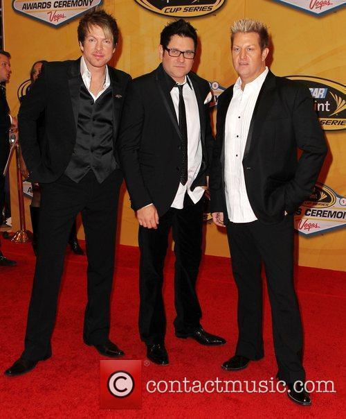 Rascal Flatts Nascar Sprint Cup Series Award Ceremony...