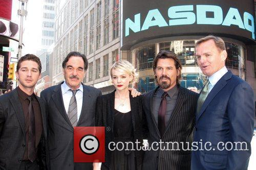 Shia Labeouf, Carey Mulligan, Josh Brolin, Oliver Stone and Wall Street 4