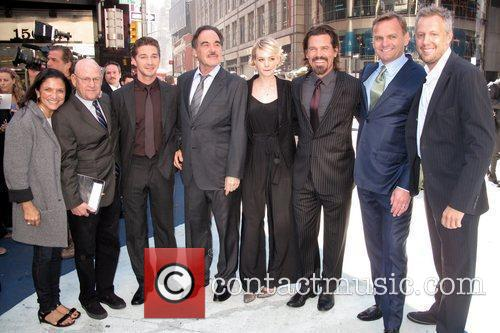 Shia Labeouf, Carey Mulligan, Josh Brolin, Oliver Stone and Wall Street 6