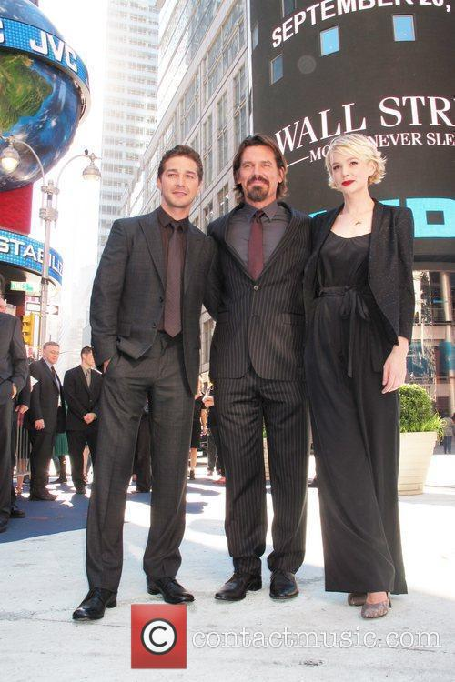 Shia Labeouf, Carey Mulligan, Josh Brolin and Wall Street 3