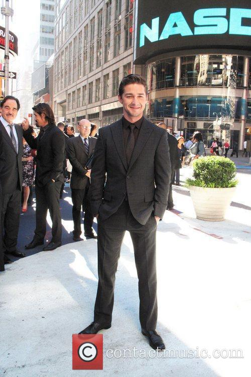 Shia Labeouf and Wall Street 2