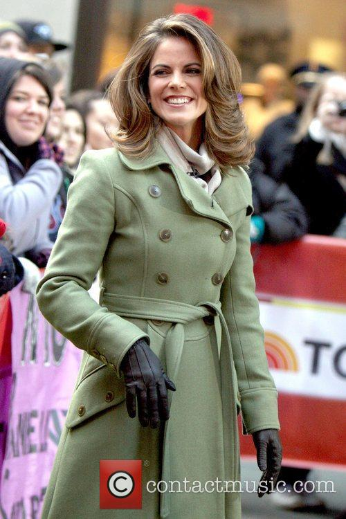 Co-host of NBC's 'Today' show, meeting fans in...