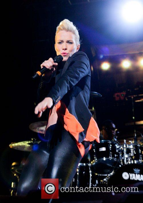 Natasha Bedingfield performs live during the South Beach...