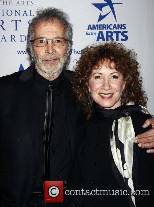 Herb Albert and his wife Lani Hall Albert...