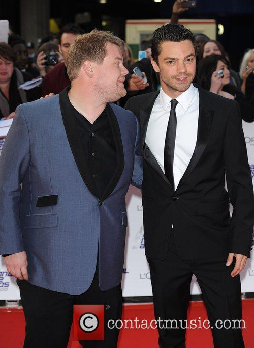 James Corden and Dominic Cooper National Movie Awards...