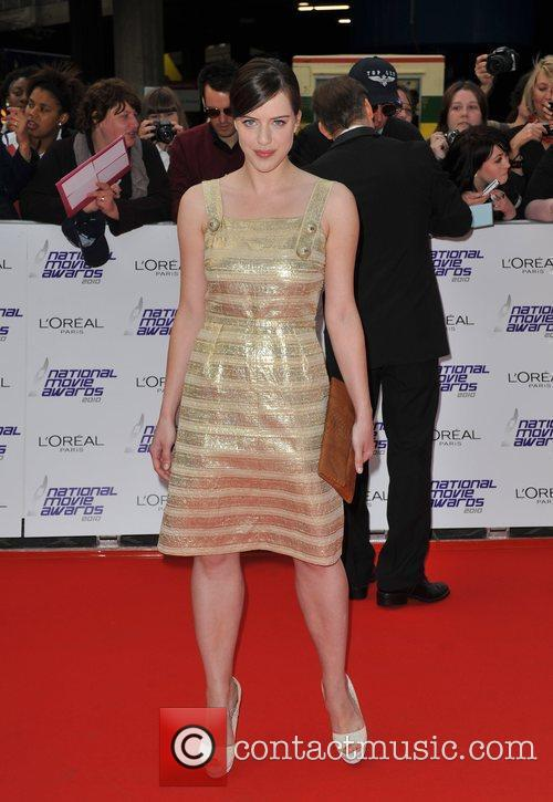 Michelle Ryan National Movie Awards held at the...