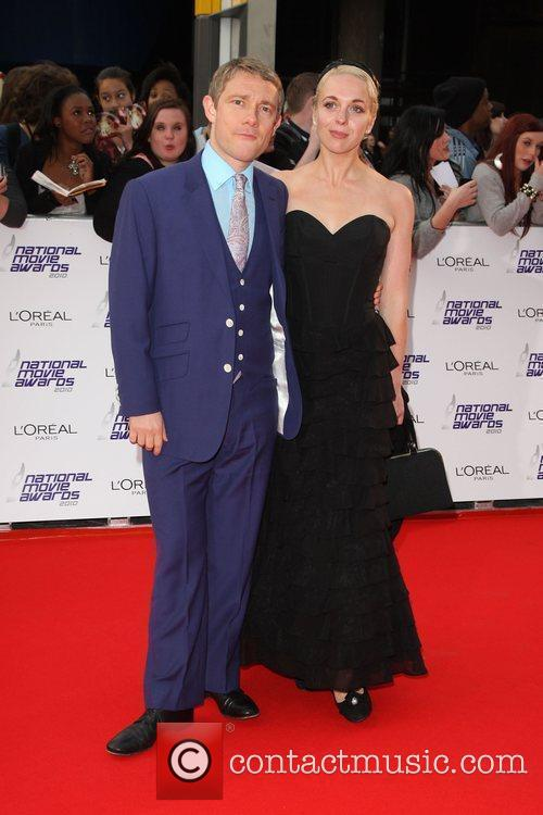 Martin Freeman with his wife The National Movie...