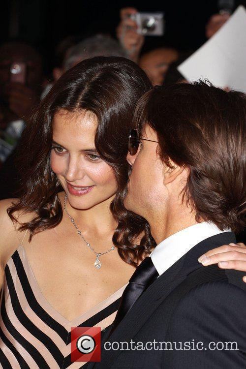 Tom Cruise and Katie Holmes The National Movie...