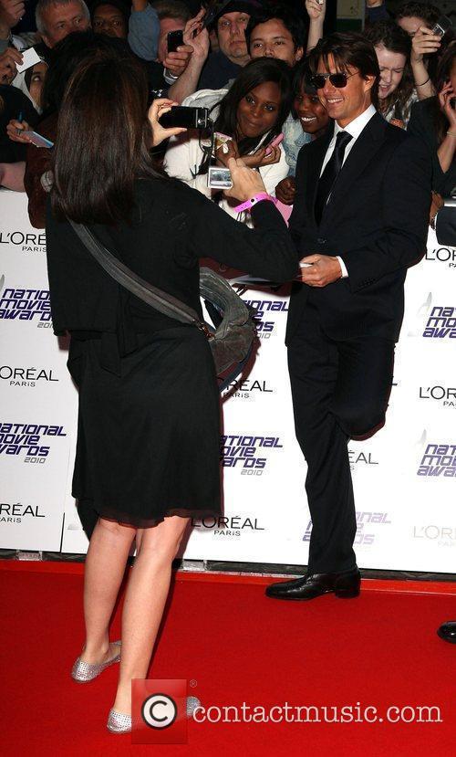 Tom Cruise  The National Movie Awards 2010...