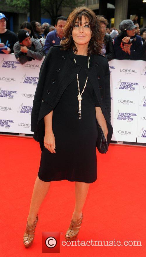 Claudia Winkleman The National Movie Awards at Royal...