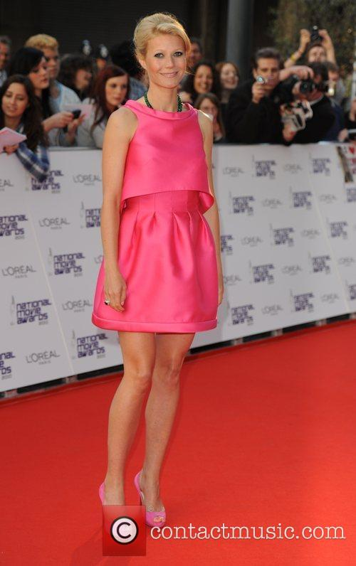 Gwyneth Paltrow The National Movie Awards at Royal...