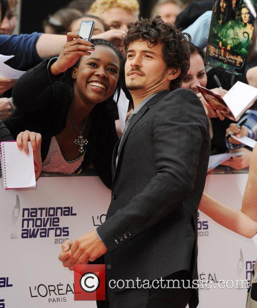 Orlando Bloom The National Movie Awards at Royal...