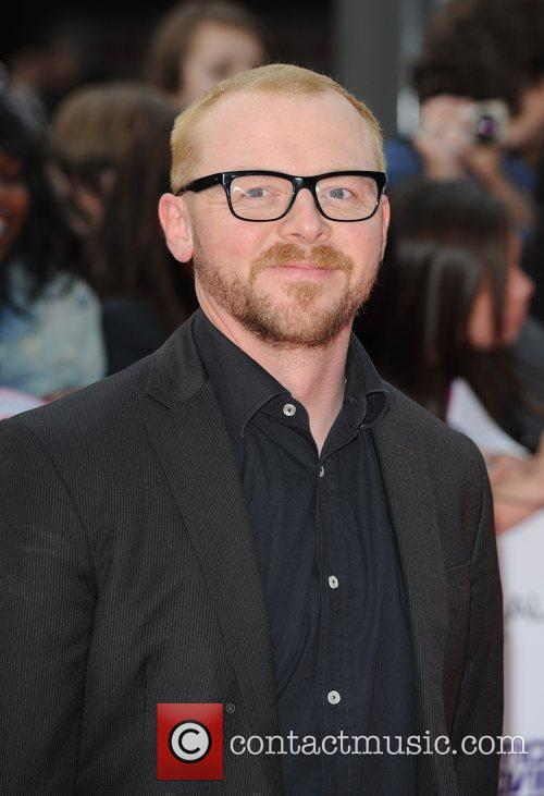 Simon Pegg National Movie Awards held at the...