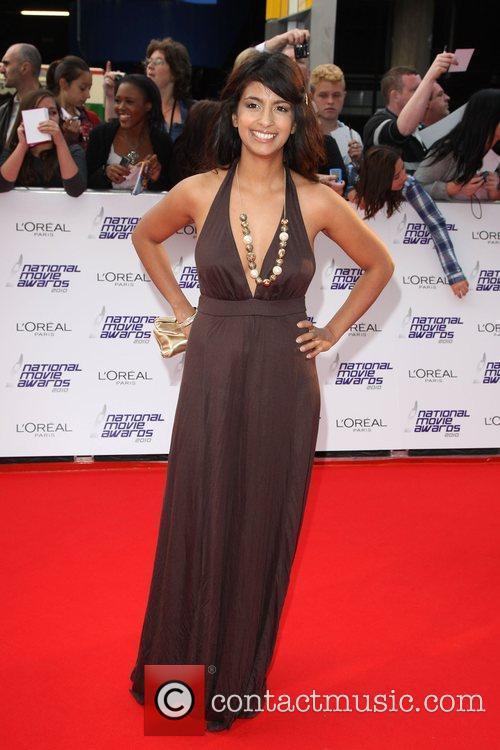 Konnie Huq The National Movie Awards 2010 held...