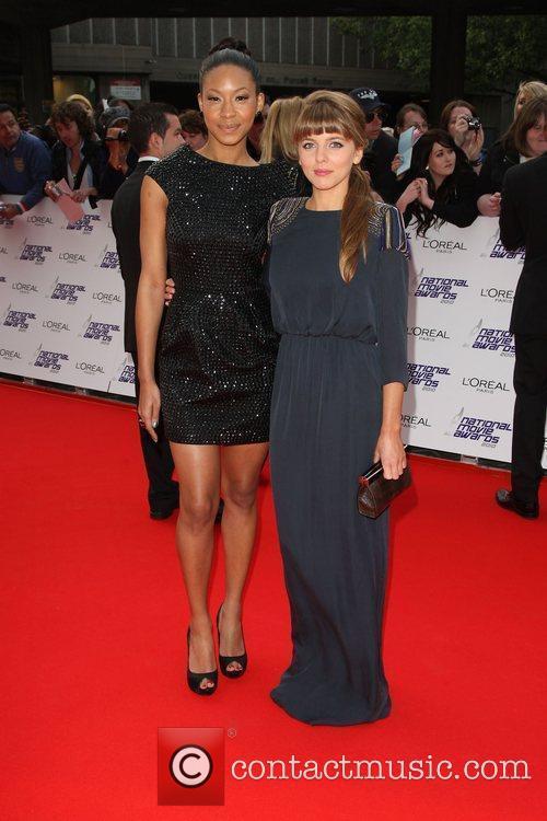 Shanika Warren-Markland and Ophelia Lovibond The National Movie...