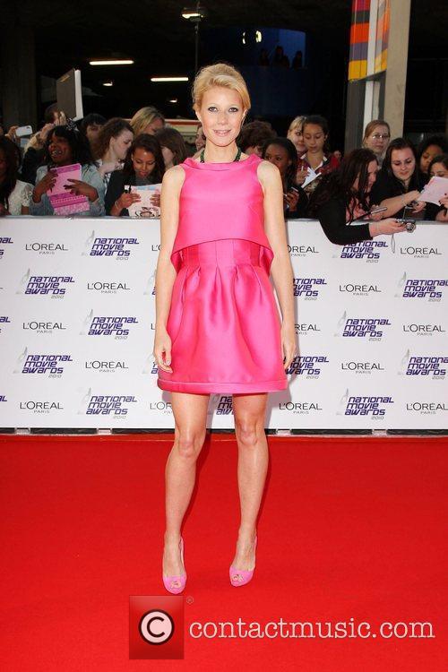 Gwyneth Paltrow The National Movie Awards 2010 held...