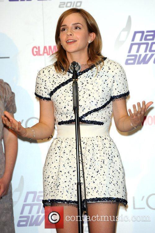 Emma Watson National Movie Awards held at the...