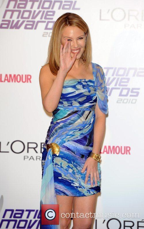 Kylie Minogue National Movie Awards held at the...