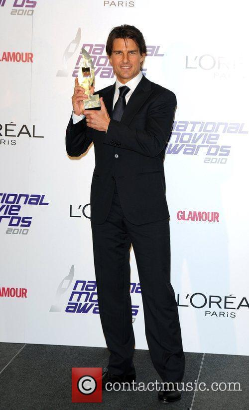 Tom Cruise National Movie Awards held at the...
