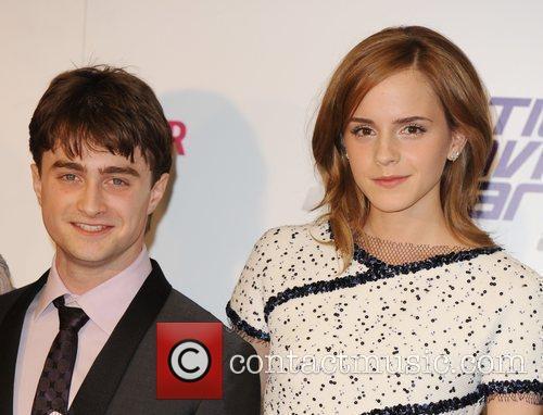 Daniel Radcliffe and Emma Watson National Movie Awards...
