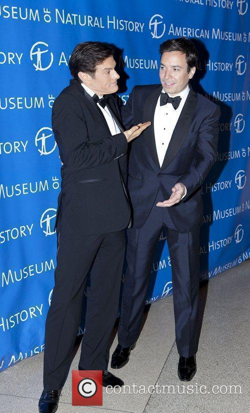 Dr. Mehmet Oz and Jimmy Fallon The American...