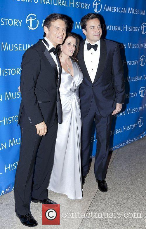 Dr. Mehmet Oz, Lisa Oz and Jimmy Fallon...