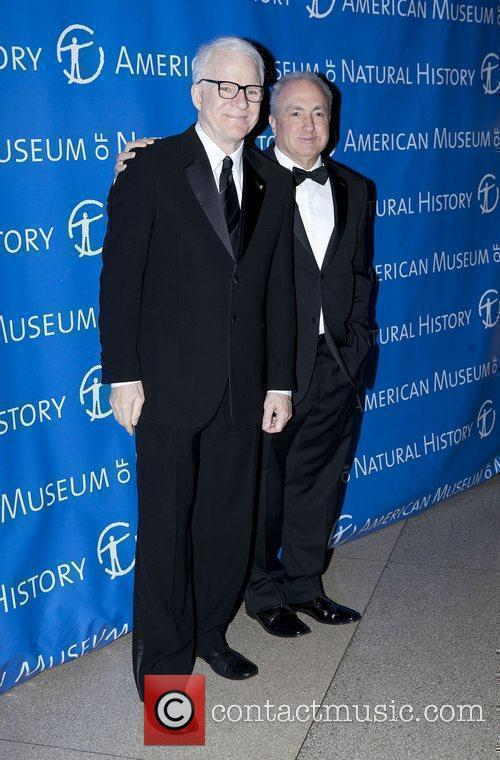 Steve Martin and Lorne Michaels