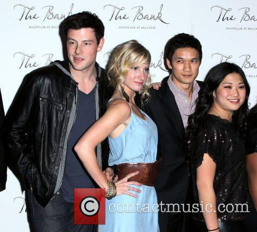 Cory Monteith, Glee, Heather Morris, Las Vegas and Naya Rivera 3
