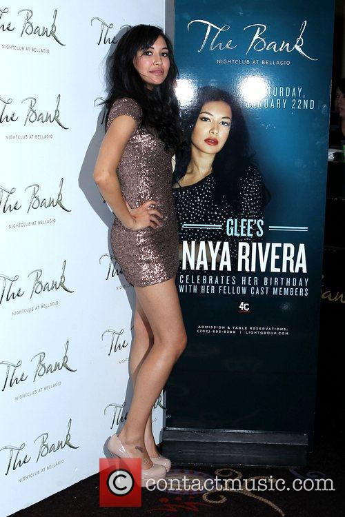 Glee, Las Vegas and Naya Rivera 4