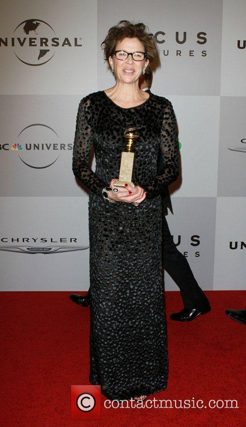 Annette Bening, NBC, Beverly Hilton Hotel