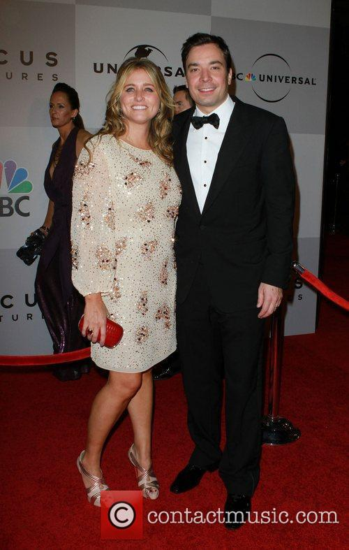 Jimmy Fallon and Nancy Juvonen 2