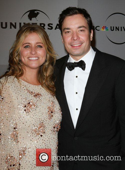 Jimmy Fallon and Nancy Juvonen 4