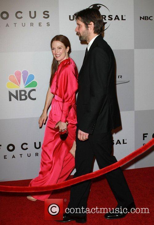 Julianne Moore and Bart Freundlich 1