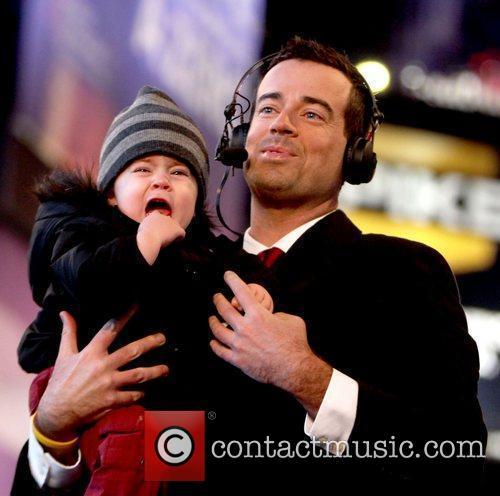 Carson Daly and his son Jackson James Carson...