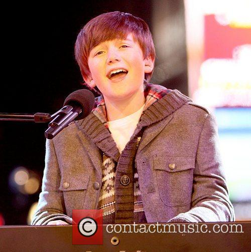 Greyson Chance performs on NBC's New Year's 2011...