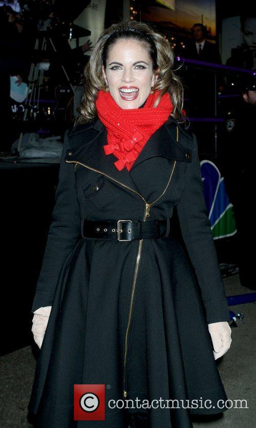 Natalie Morales co-hosts NBC's New Year's 2011 show...