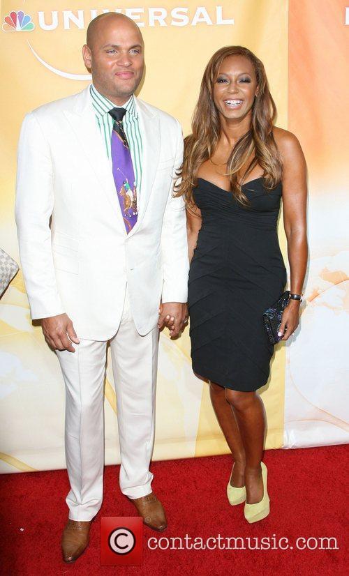 Stephen Belafonte and Melanie Brown Aka Mel B 2