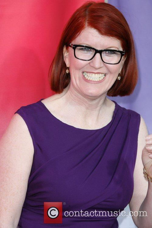 Kate Flannery, Beverly Hilton Hotel