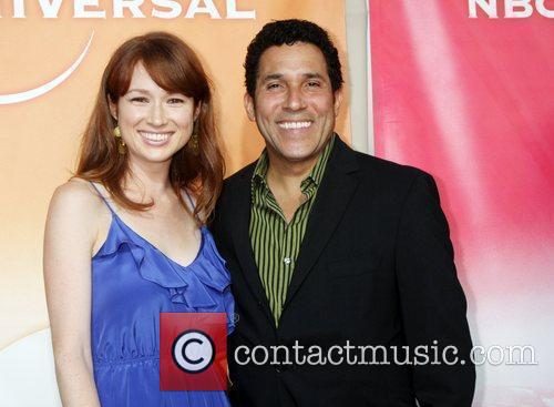 Ellie Kemper and Oscar Nunez 3
