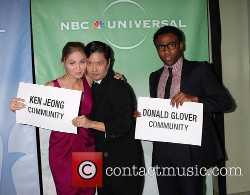Erika Christensen, Ken Jeong and Donald Glover The...